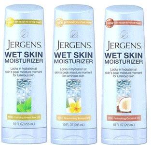 Jergens-Wet-Skin-Moisturize Sample