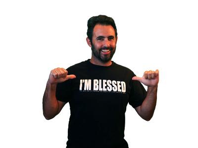i m blessed t-shirt