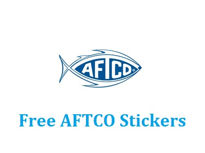 Get your free aftco fish stickers us only freebies joy for American fishing tackle company