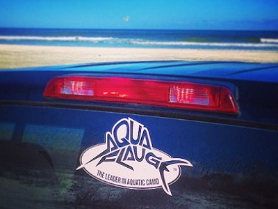aquaflauge decal