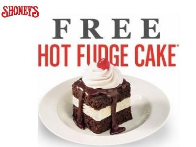 shoneys-free cake