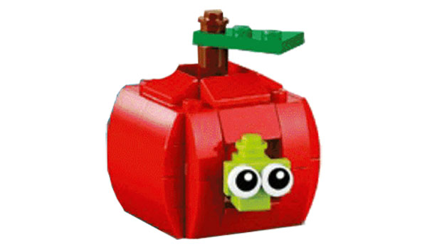 FREE-LEGO-Apple-Model-Build