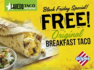 facebook coupon-FREE BKFST TACO-BLK FRIDAY