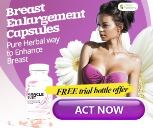 Miracle Bust Safe Effective Breast Enhancement Supplement