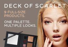 deck scarlet makeup palette
