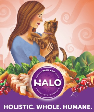 free can of halo cat food for national cat day freebies joy