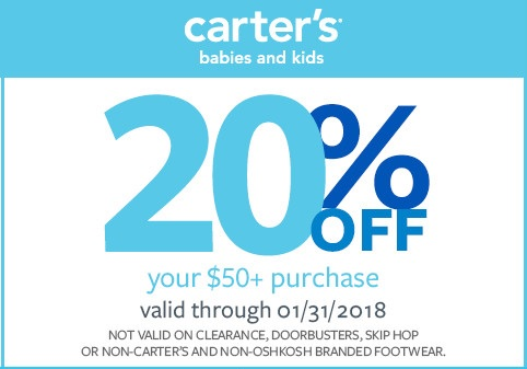 Free Coupon Of Carter S Oshkosh From Carters Freebies Joy